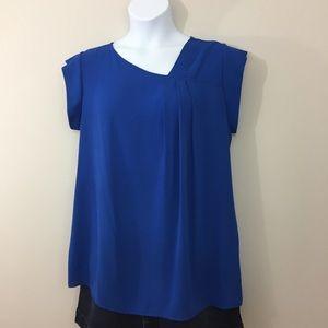 Espressa Cobalt Blue Blouse